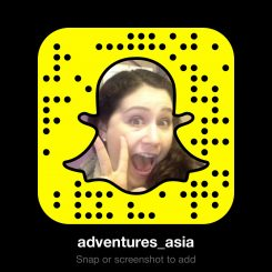 Adventures Around Asia Snapchat