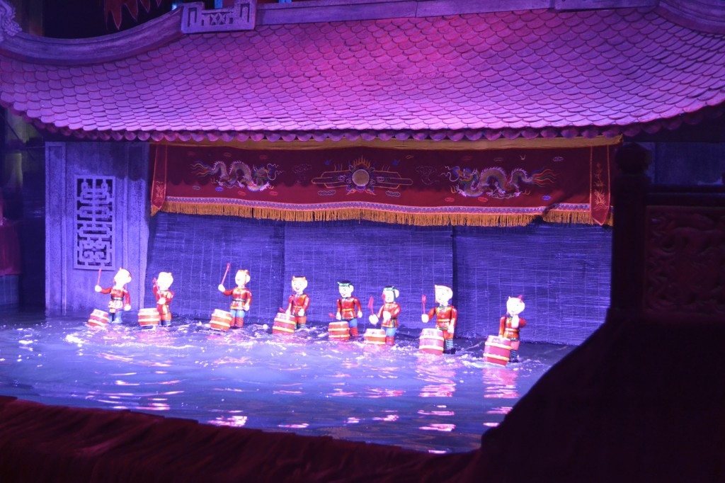 Water puppet theater Hanoi