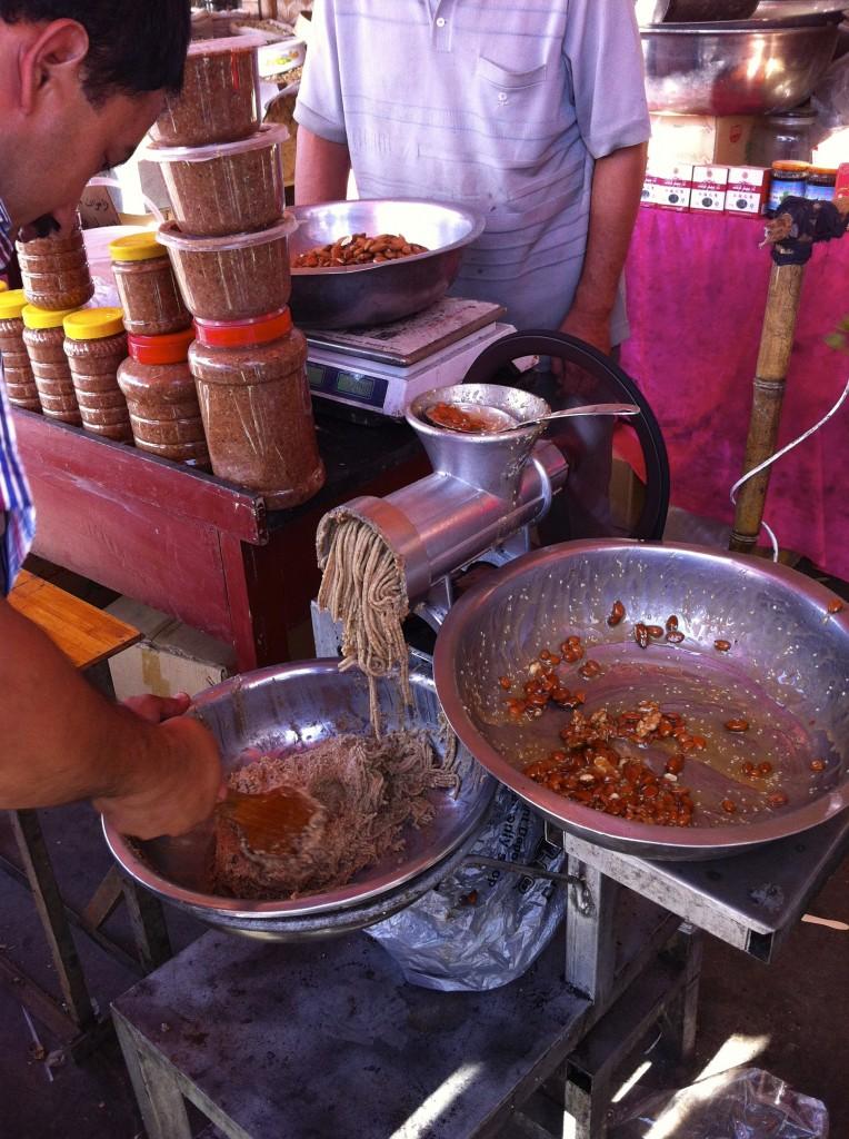 Xinjiang honey and nuts