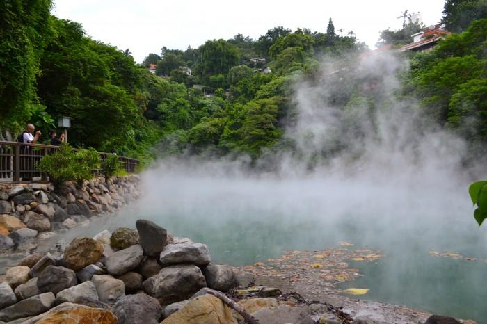 Beitou sulfur springs