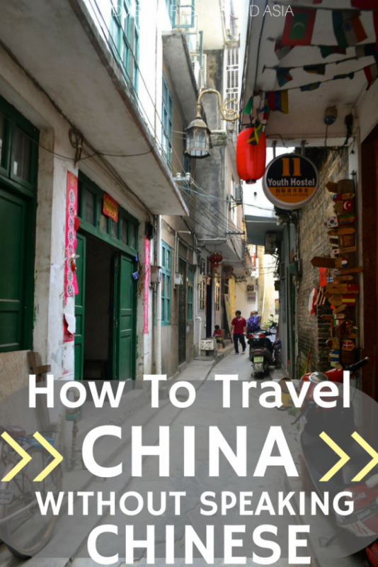 Travel in China Without Chinese