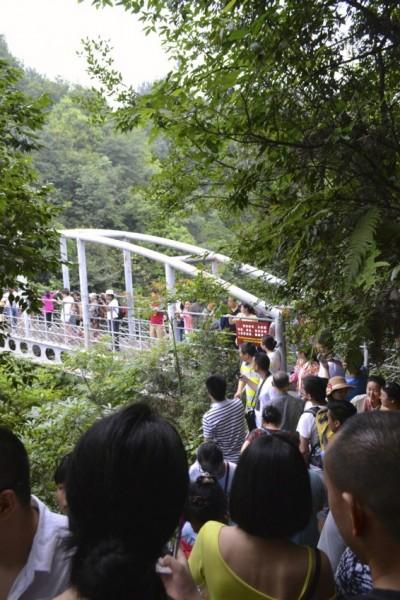 Zhangjiajie crowded