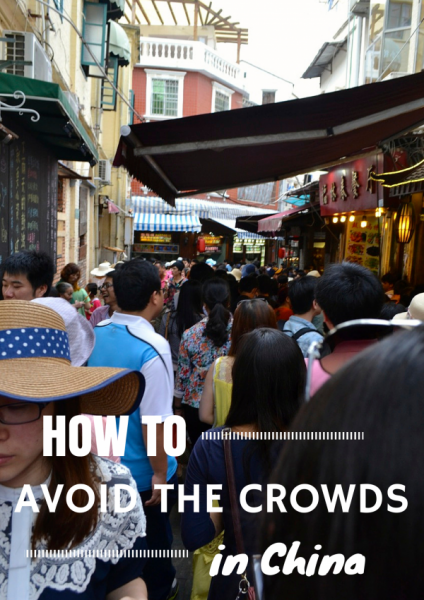 avoid crowds China
