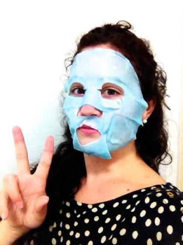 Asian beauty face masks