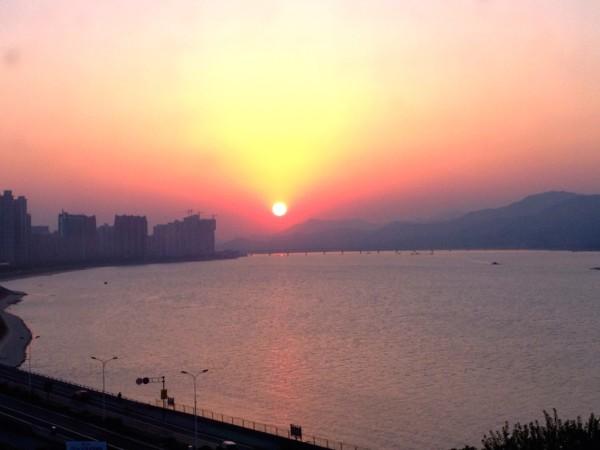 Hangzhou sunset