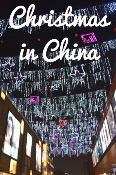 Celebrating Christmas in China