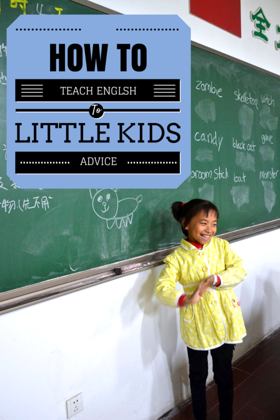 How to teach English to little kids