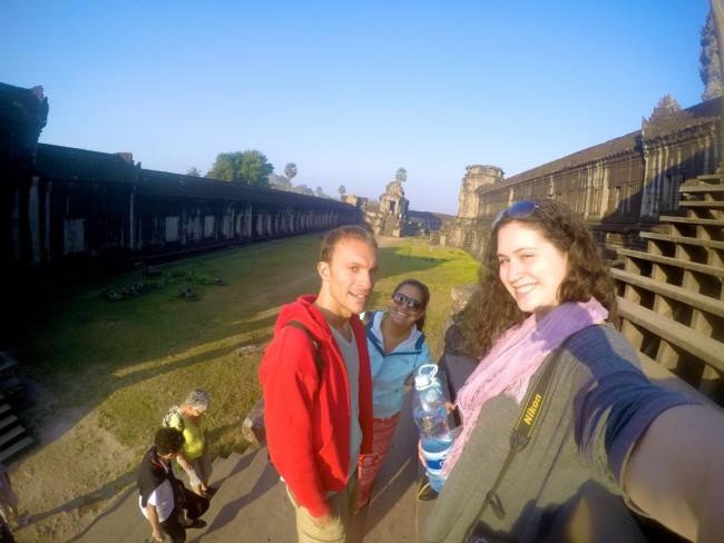 Gopro Selfie Angkor Wat
