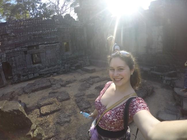 Angkor Wat selfie