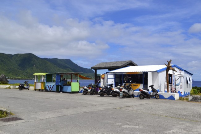 souvenir stalls Lanyu Orchid Island