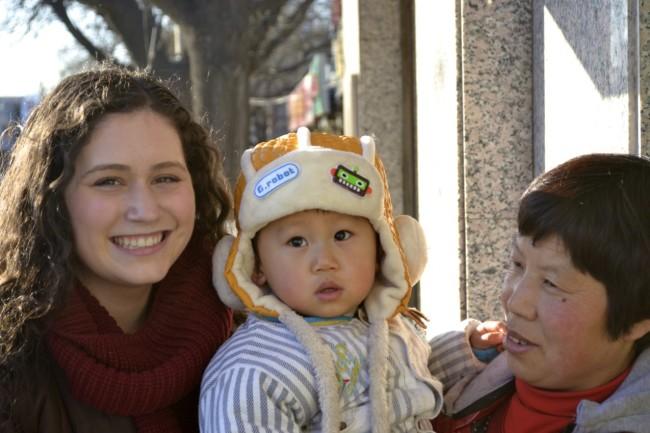 China baby winter