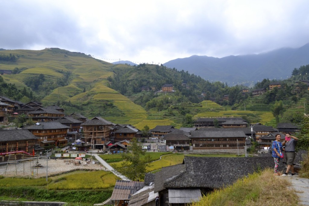Guilin terrace farm