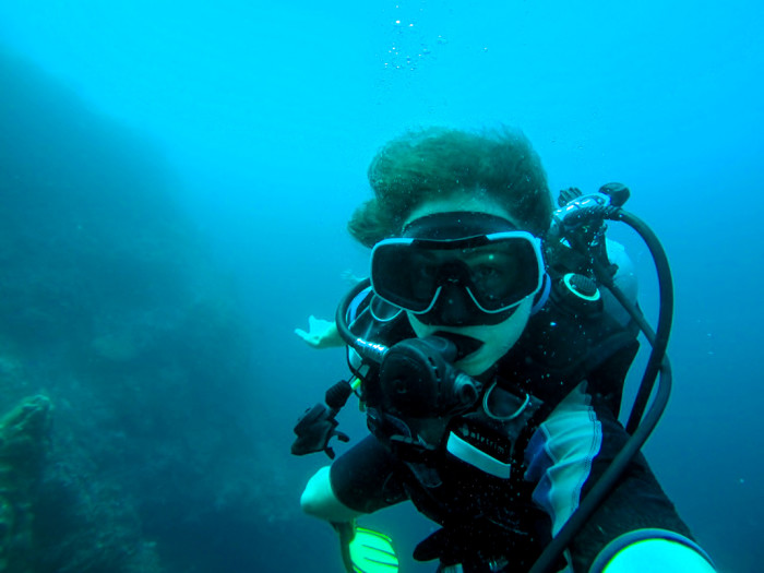 Diving Moalboal Philippines