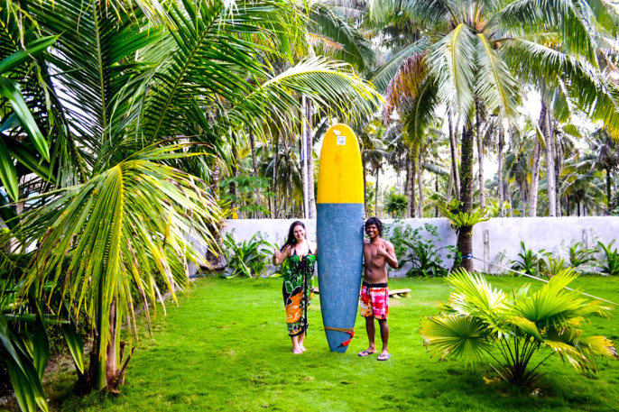 Siargao: FINALLY Learning to Surf in the Philippines