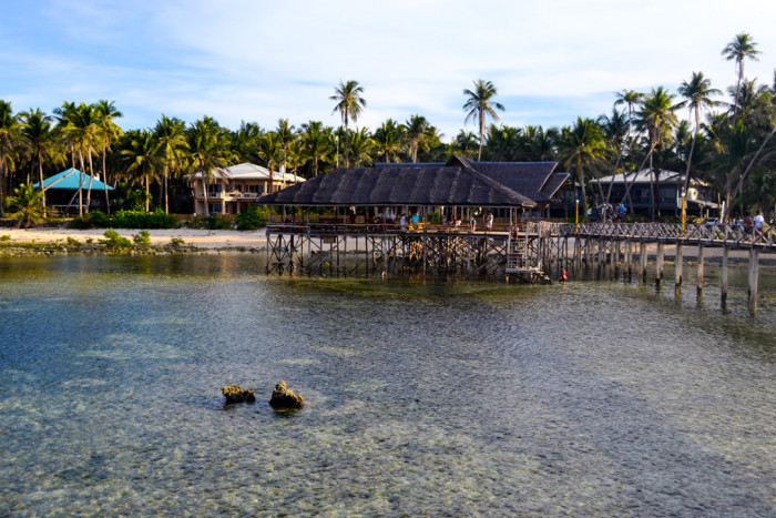 Siargao Cloud 9 beach