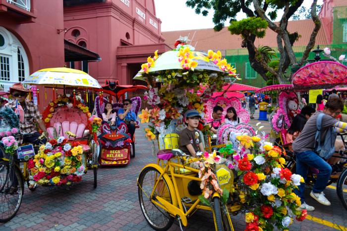 melaka rickshaw