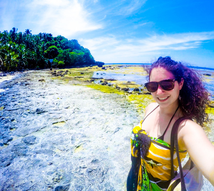 Siargao rock pools