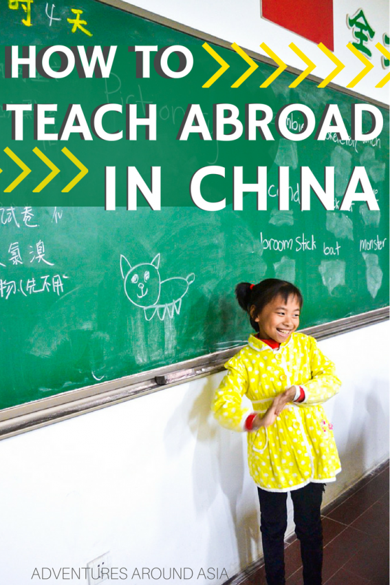 How to Teach Abroad in China