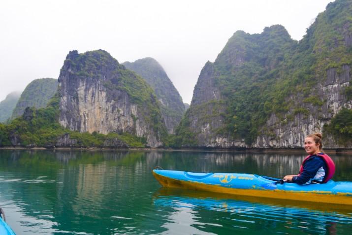 Cat Ba kayaking