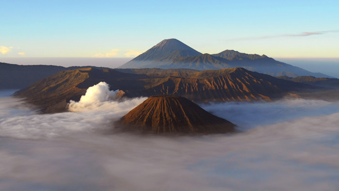 Mt. Bromo and Mt. Semeru