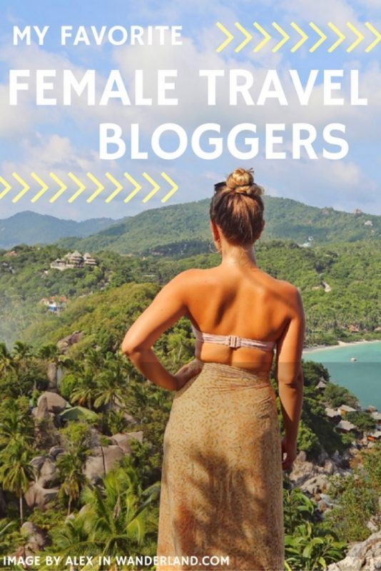 Top Female Travel Bloggers