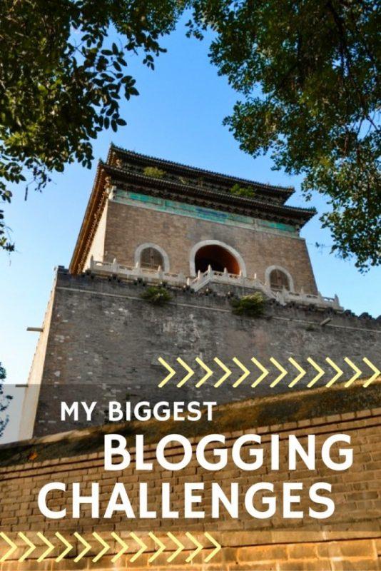 My Biggest Blogging Challenges