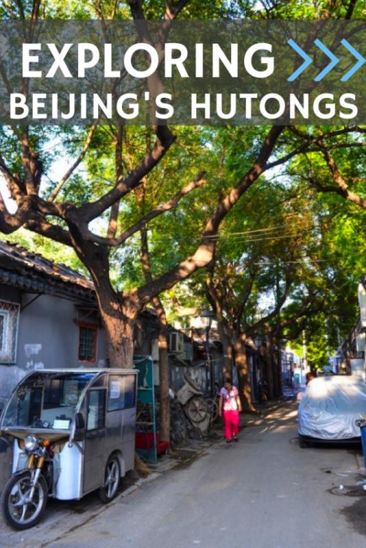 Exploring Beijing's Hutongs