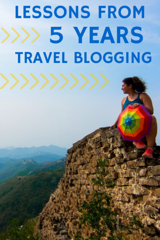 5 Years of Travel Blogging
