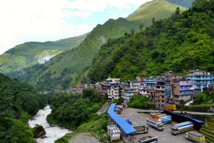 China Nepal Friendship Bridge
