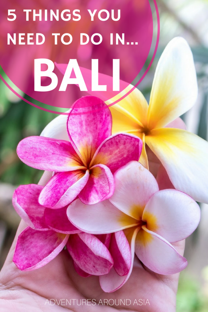 Things to do Bali
