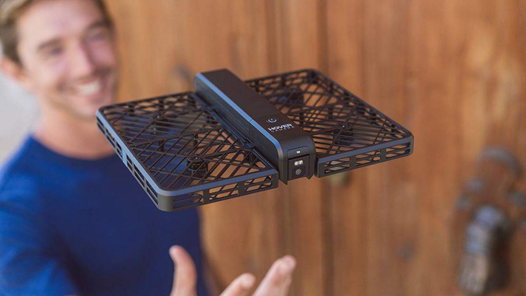 travel selfie drone