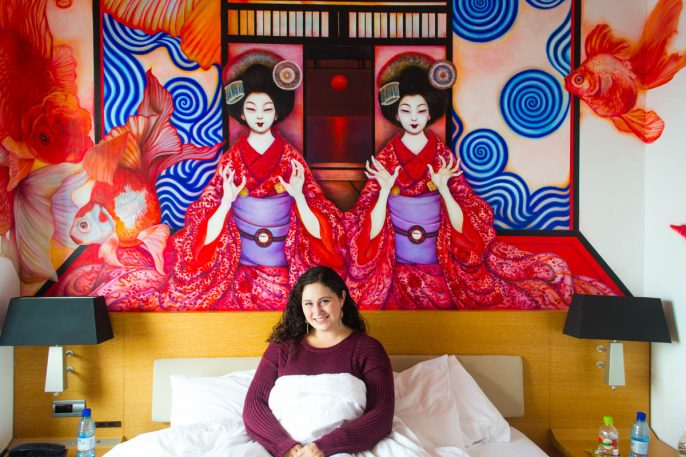 Geisha Glamor at the Park Hotel Tokyo – Tokyo's Most Unique Hotel
