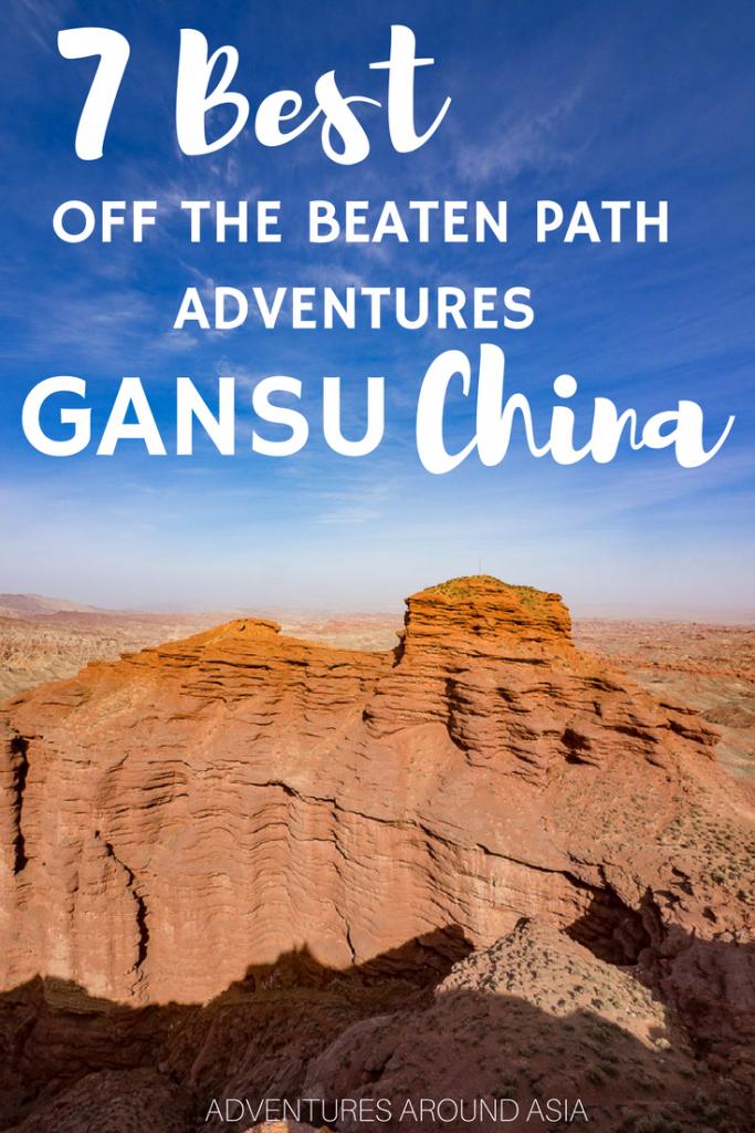 Off the beaten path gansu