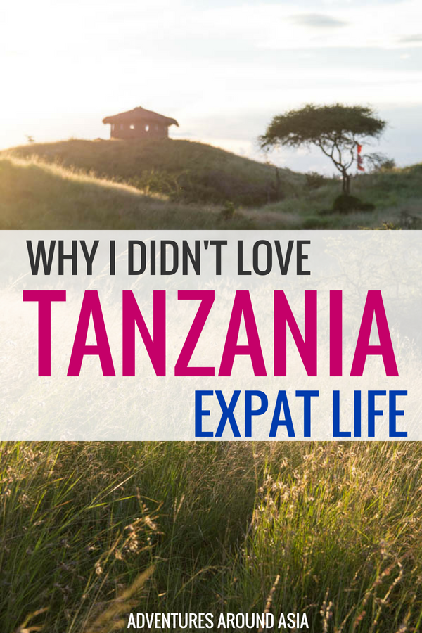 After three months of living in Tanzania as an expat, I was ready to leave. Here's why I didn't love living abroad in Tanzania. #tanzania #expat #africa #travel #digitalnomad