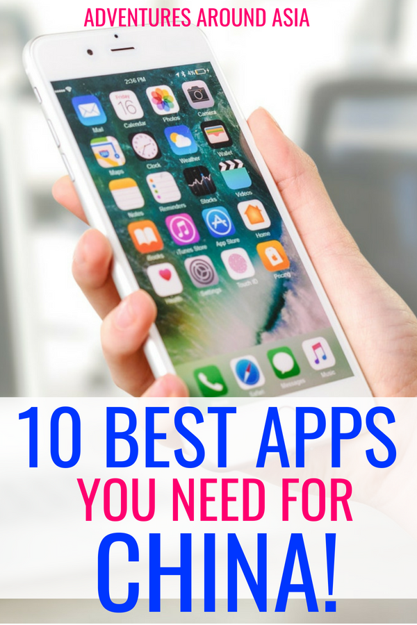 Are you traveling to China? Becoming a China expat? Here are the 10 apps you need to download before you come to China! #app #China #travel #expat