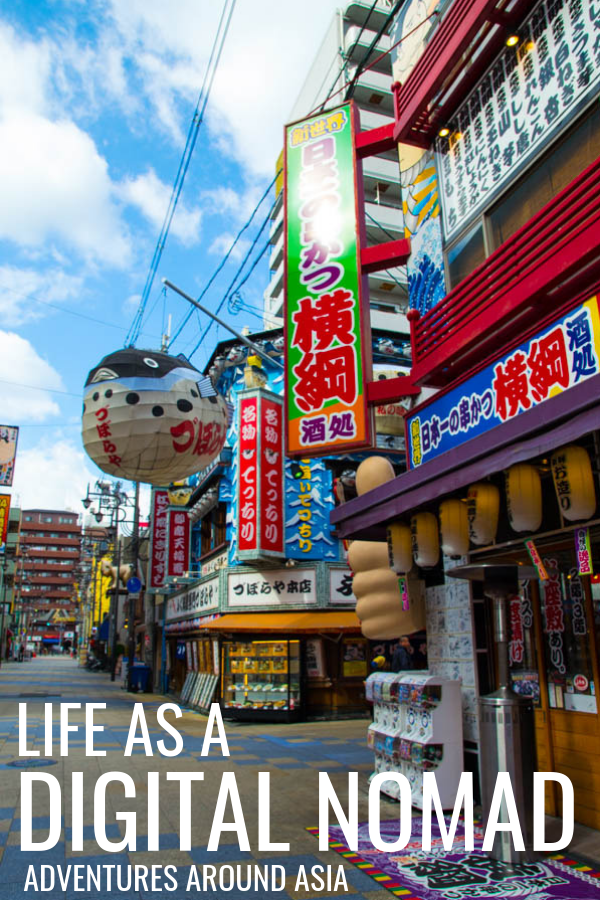 Location Independence and life as a digital nomad! Here's what it's like to bounce from Vietnam to Japan to Australia while working online as a professional travel blogger! #locationindependence #travelblog #travelblogger #digitalnomad #workonline #travel