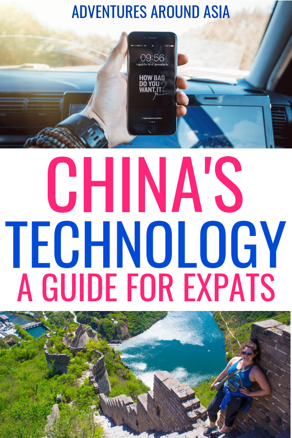 Are you moving to China to live as an expat or traveling around China long term? Here are all the apps and websites you need for your trip to China so you can live like a local! #china #technology #apps #online #travelblog #expat