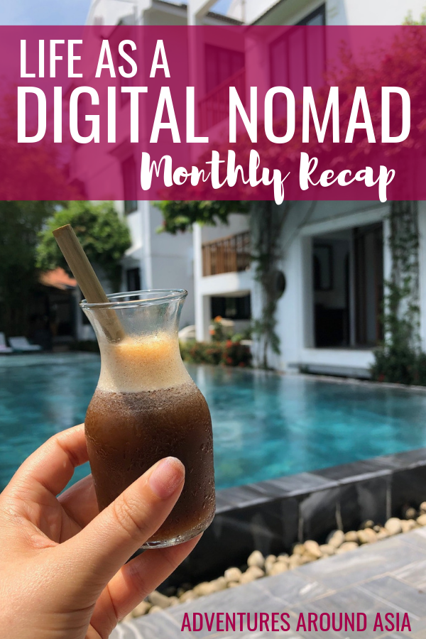 Want to know what it's like to live in Asia as a location independent digital nomad? Here's my monthly recap as a travel blogger in Beijing and Hoi An Vietnam! #digitalnomad #locationindependent #travelblog #travelblogger #asia #beijing #china #vietnam #hoian