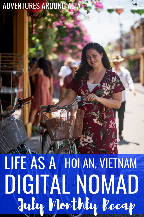 Want to know what it's really like to live in Hoi An Vietnam as a location independent digital nomad? It's the Freedom Life Vietnam! #travel #digitalnomad #locationindependent #hoian #vietnam