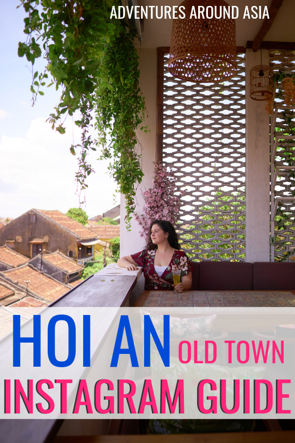 Take the perfect Instagram photos in Hoi An Vietnam with this Hoi An Instagram guide! Plan your own photoshoot around Hoi An Old Town and get perfect travel photos! #instagram #hoian #vietnam #photoshoot #photography #selfie #travel