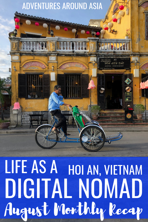 Want to know what it's like to be a location independent digital nomad in Hoi An Vietnam? #digitalnomad #locationindependent #hoian #vietnam #travel #travelblog