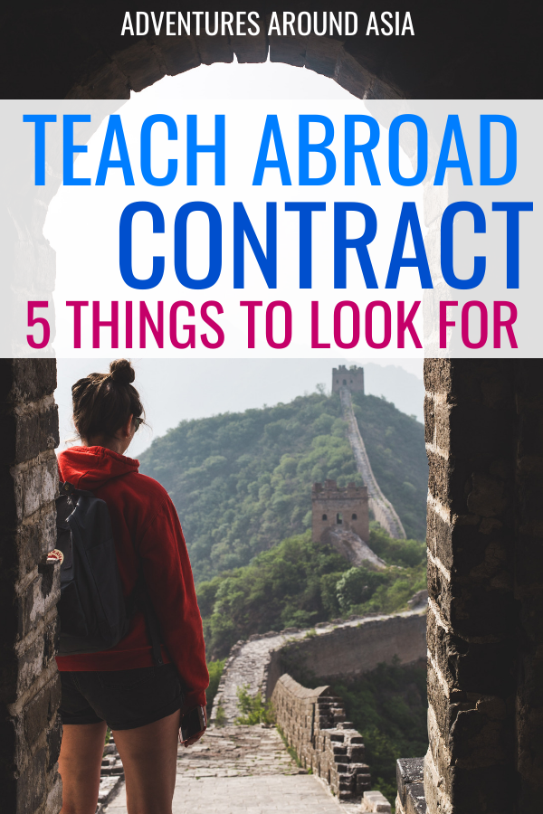 5 Things to Look For in Your Teach Abroad Contract (So you Don't Get Scammed)