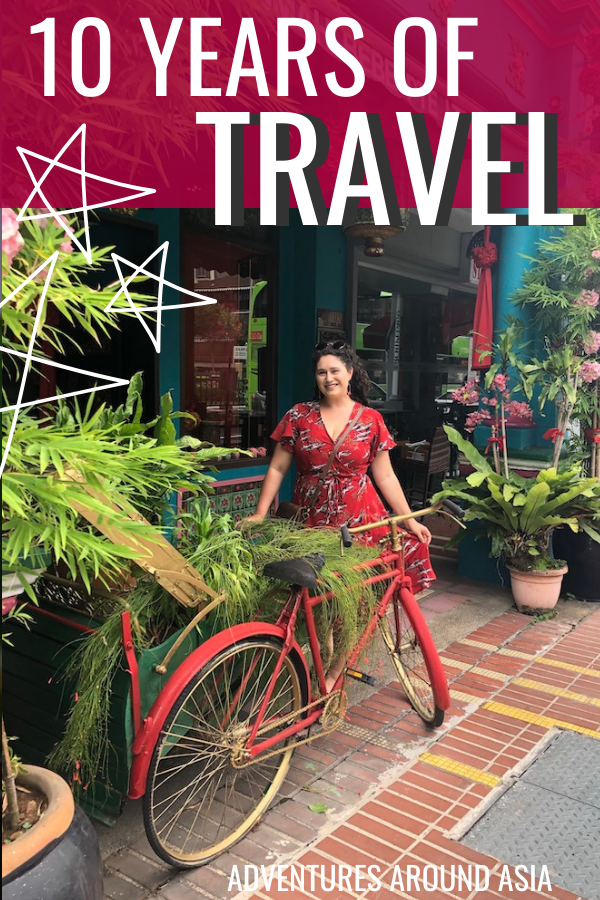 Whats it like to spend 10 years traveling and living abroad? Heres how the last decade of expat life, travel, and blogging has changed me! #travel #expat #China #blog #blogger