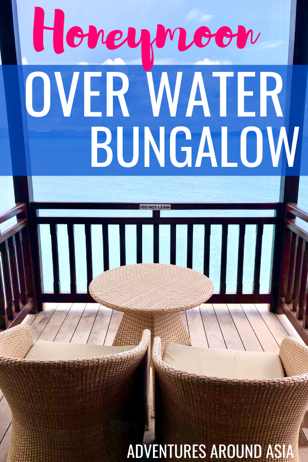 Want to plan the ultimate southeast asia honeymoon? Here's what it was like to stay in an overwater bungalow in Langkawi Malaysia! #bungalow #luxury #hotel #southeastasia #langkawi #malaysia #Honeymoon