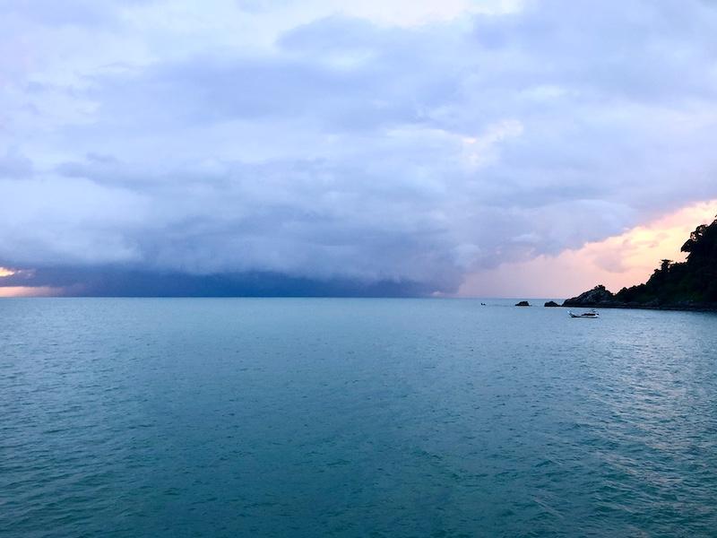 Langkawi storm
