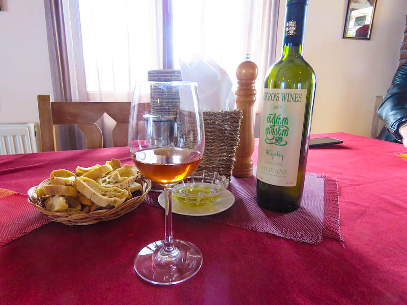 Georgia Amber Wine Kakheti