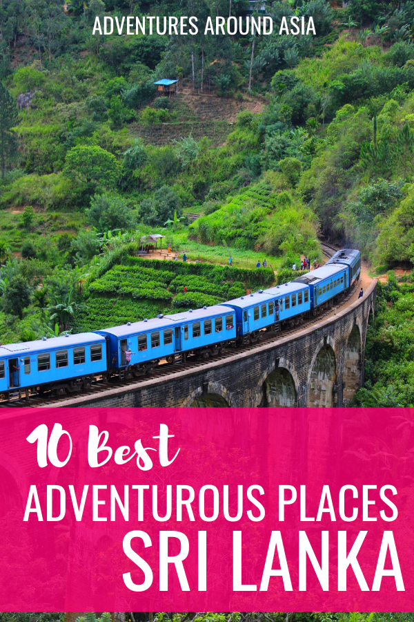 Need a few adventurous activities to add to your Sri Lanka trip? Here are the best adventurous places to visit in Sri Lanka! #srilanka #asia #travel #adventure