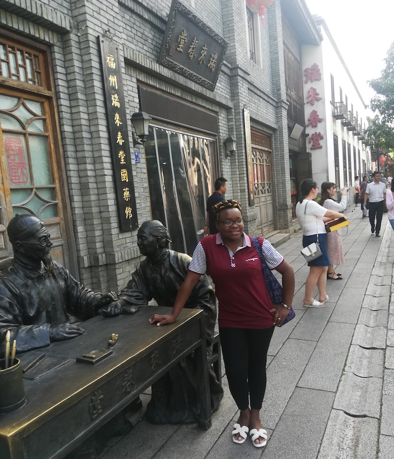 teach abroad in China african