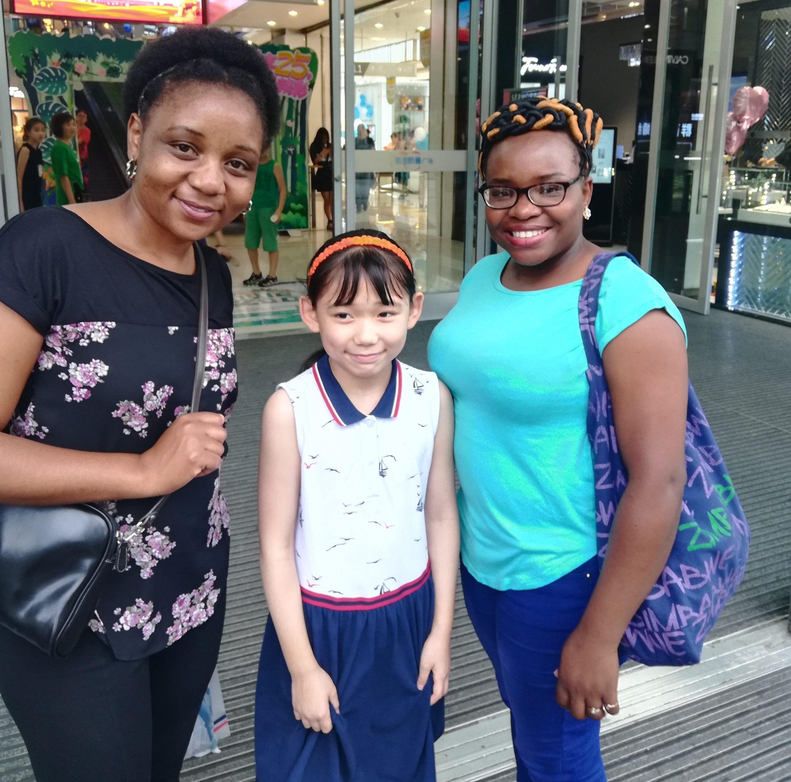 black woman in China