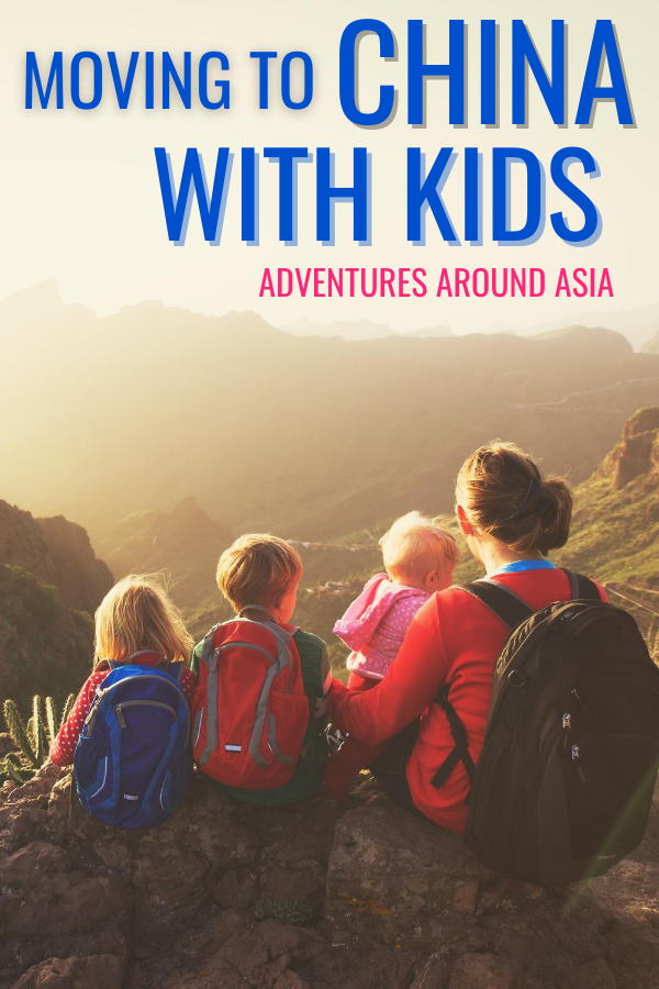 moving to china with kids! What it's like to teach abroad in China with your family! #teachabroad #china #travel #familytravel #expat